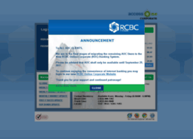 rcbcaccessonecorporate.com