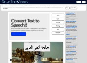 readthewords.com