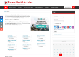 recenthealtharticles.org