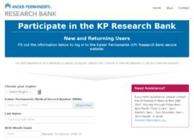 researchbank-econsent.kaiserpermanente.org