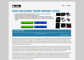 restorememorystick.com