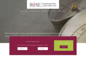 roseimmigration.com