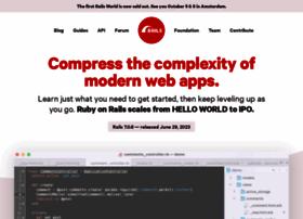 rubyonrails.org