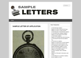 sample4letter.com