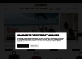 samsonite.de