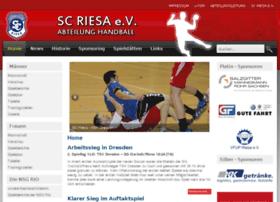 sc-riesa-handball.de