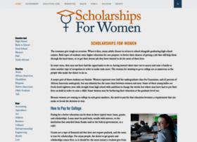 scholarshipsforwomen.net