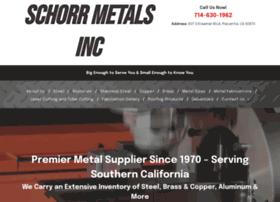 schorrmetals.com