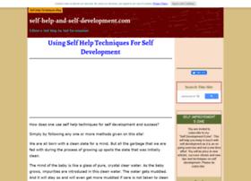 self-help-and-self-development.com
