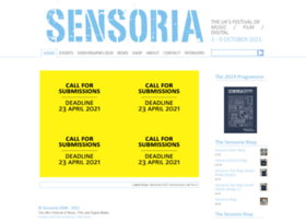 sensoria.org.uk