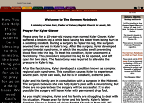sermonnotebook.org