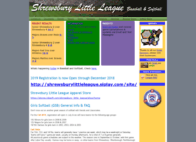 shrewsburylittleleague.com