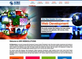siriwebsolutions.com