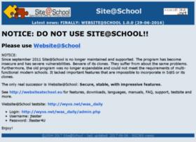 siteatschool.org