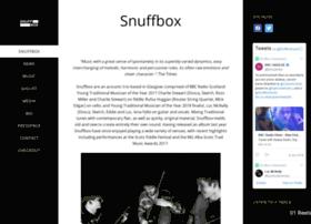 snuffboxmusic.com