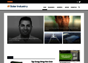 solarindustrymag.com
