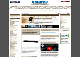 sonifex.co.uk