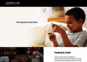 sonion.com