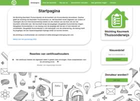 stichtingkeurmerkthuisonderwijs.nl