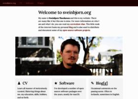 sveinbjorn.org
