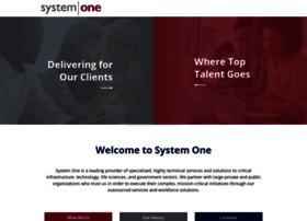 systemoneservices.com