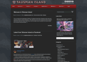 Welcome to Talisman Island  Established 24th February 1999