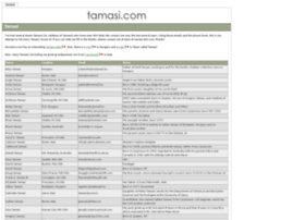 tamasi.com