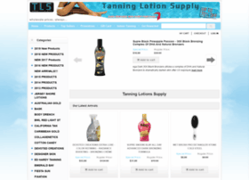tanninglotionsupply.com