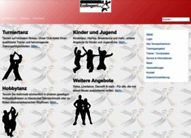 tanzsport-esslingen.de