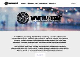tapahtumantekijat.fi