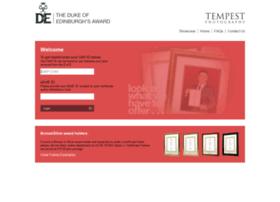 tempest-dofe.co.uk
