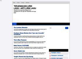 terjemah-lirik-lagu-barat.blogspot.com