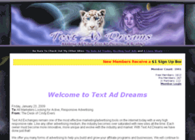 text-ad-dreams.com