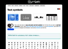 text-symbols.com