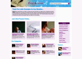 thankyouletters.co.uk