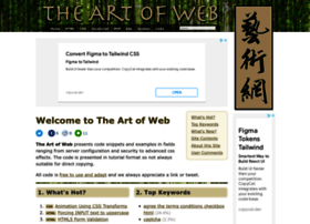 the-art-of-web.com