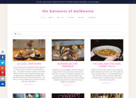 thebaronessofmelbourne.com