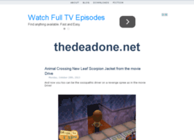 thedeadone.net