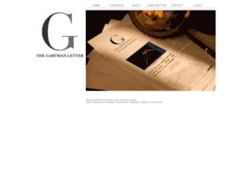 thegartmanletter.com