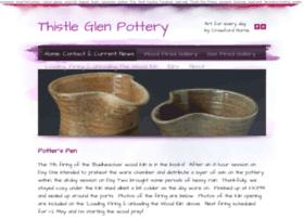 thistleglenpottery.com