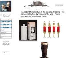thompsonmonuments.com