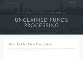 unclaimedfundsprocessing.com