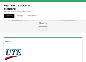 unitedtelecomeurope.com