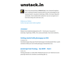 unstack.in