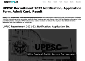 uppsc.org.in