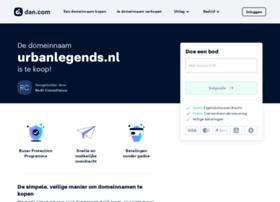 urbanlegends.nl
