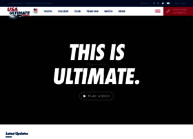 usaultimate.org