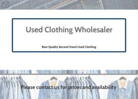 usedclothingwholesaler.co.uk