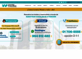 uwiener.edu.pe