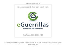 vanderpoldata.nl